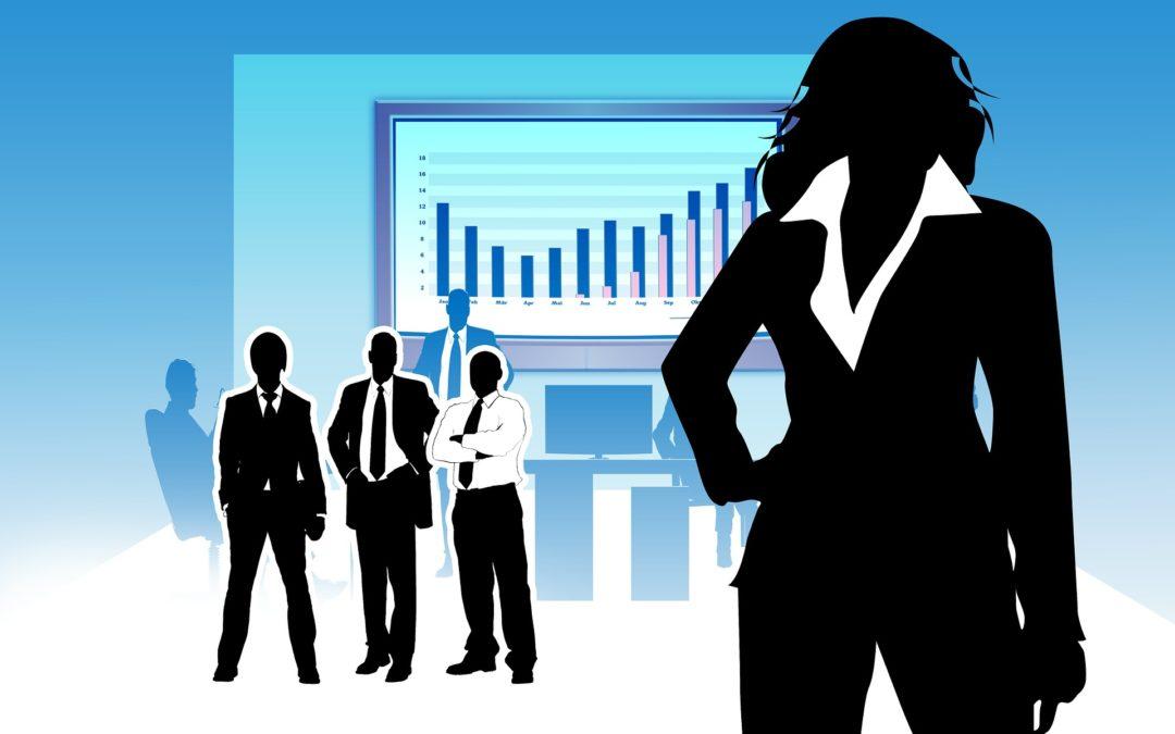 Frauen als Führungskräfte unterrepräsentiert