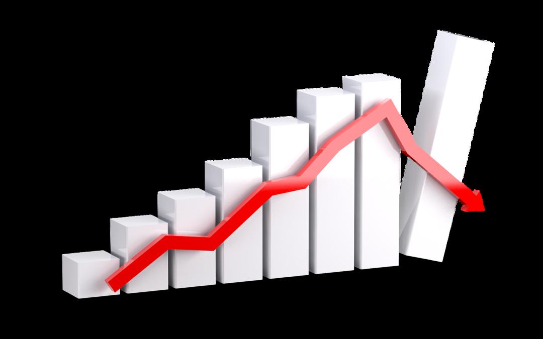 Weniger Unternehmensinsolvenzen